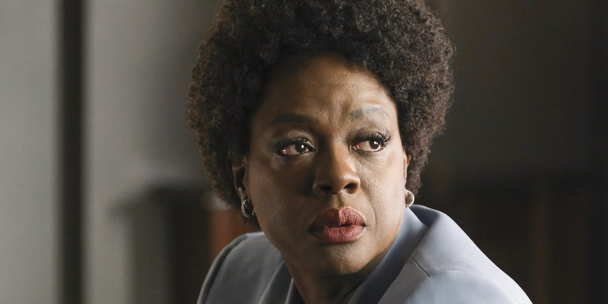 Viola Davis How To Get Away With Murder.