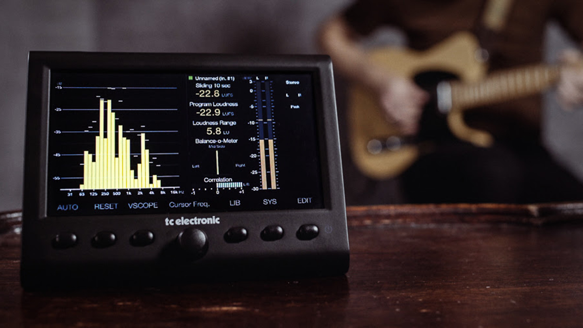 Tc Electronic Releases A More Affordable Clarity M In The Stereo Phase Correlation Meter Edition Musicradar