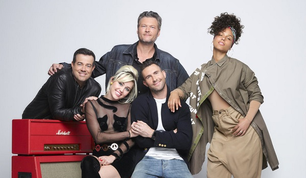 the voice coaches miley