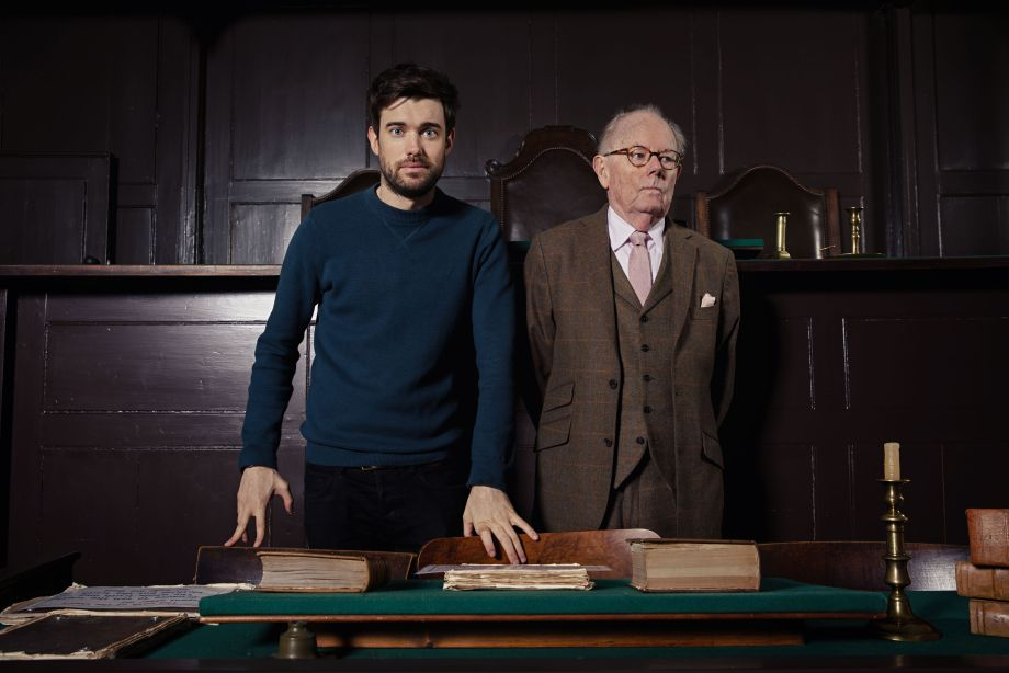 Jack Whitehall and his father Michael in the new series of Who Do You Think You Are? 2019