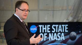 Robert Lightfoot, NASA
