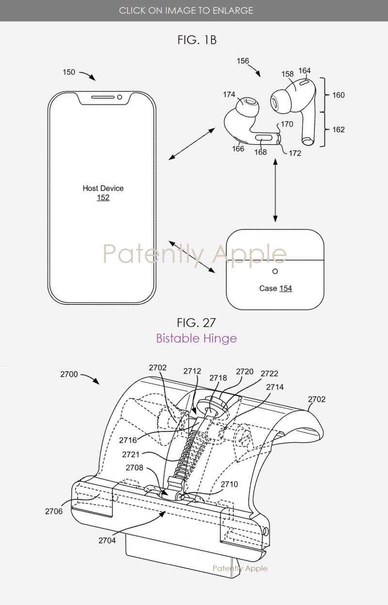 AirPods Pro 2 charging case patent