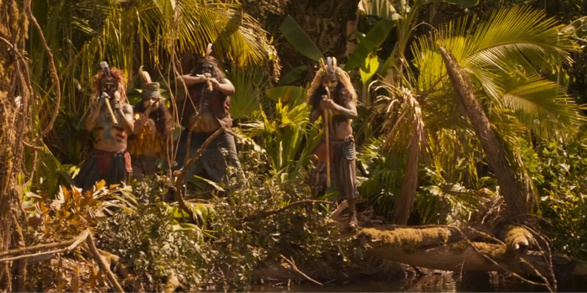 indigenous people in Jungle cruise