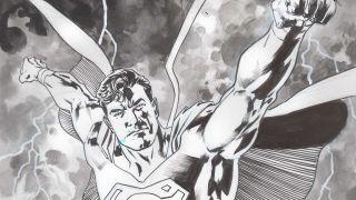 Superman #23 original art
