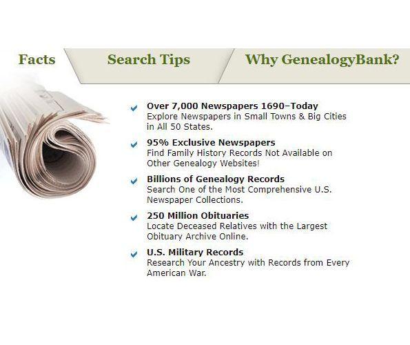 GenealogyBank Review - Pros, Cons and Verdict | Top Ten Reviews