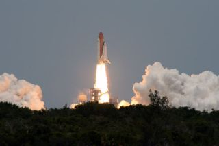 Space Shuttle Launches to Save Hubble Telescope