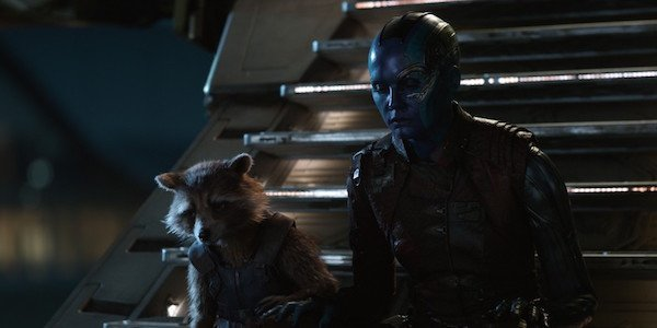 Rocket and Nebula in Endgame