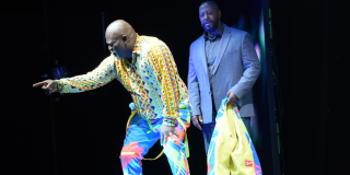 David Mann performing as Mr. Brown in Madea's Farewell Play