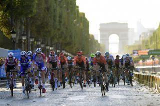 The Champs-Elysées in Paris hosts the final stage of the 2019 Tour de France