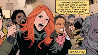 Cecil Castellucci reveals her goals for this week's Batgirl #50
