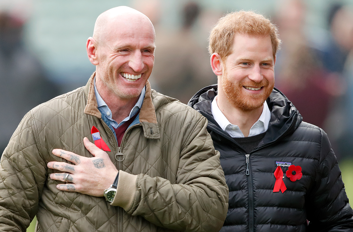 prince harry gareth thomas raise awareness hiv
