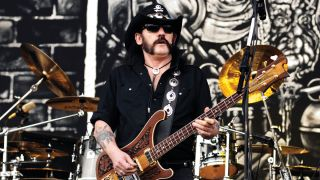 Lemmy performs live with Motörhead