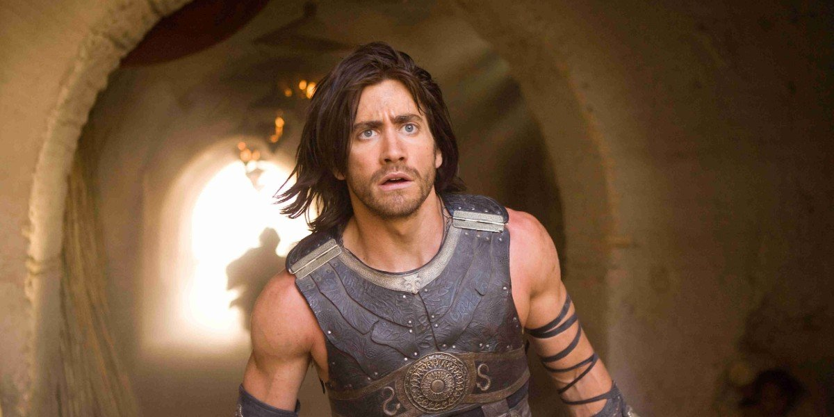 Jake Gyllenhaal in the Prince of Persia: The Sands of Time