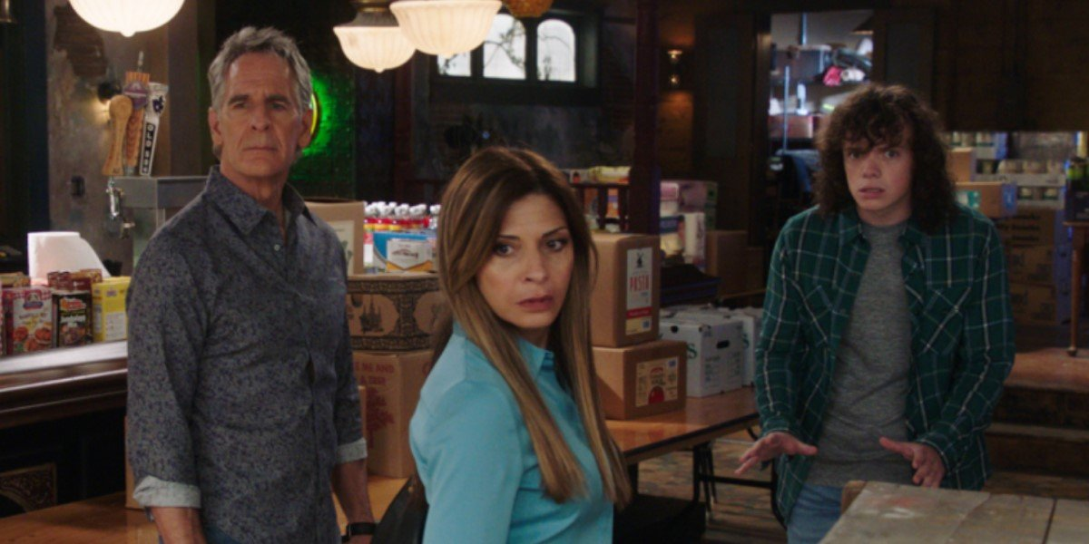 pride, sasha and connor in the bar on ncis new orleans season 7