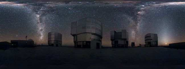 Milky Way in 360-Degree Panorama