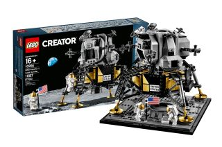 Lego's NASA Apollo 11 Lunar Lander toy set was developed with input from the space agency to celebrate the 50th anniversary of the first moon landing.