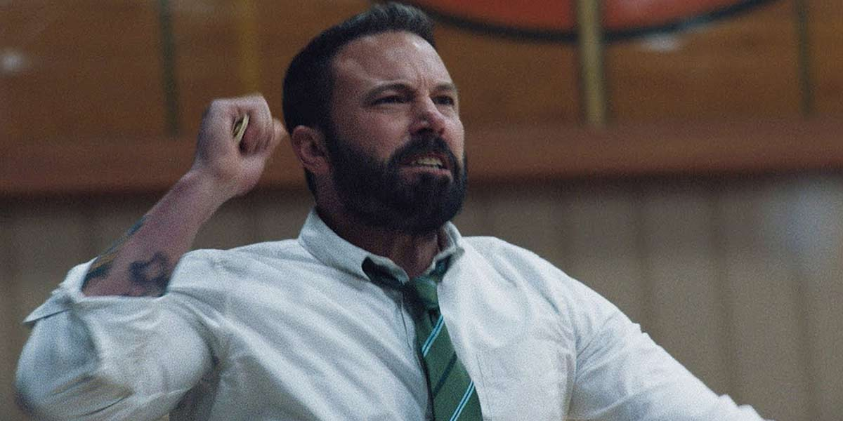 Ben Affleck mad or sad in The Way Back?