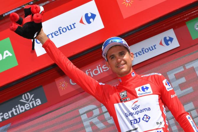 Rudy Molard took red after stage 5