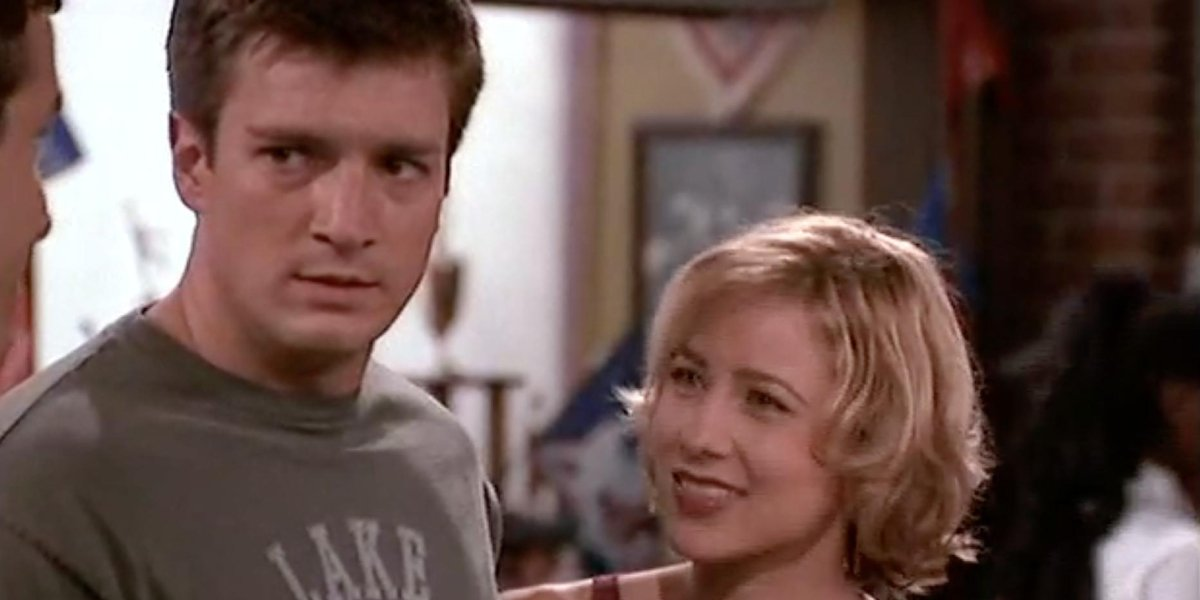 Nathan Fillion and Traylor Howard on Two Guys and a Girl