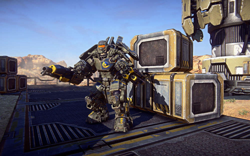 PlanetSide 2 MAX Suits Let You Become Iron Man #22139