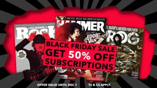 Black Friday - get 50% off magazine subscriptions