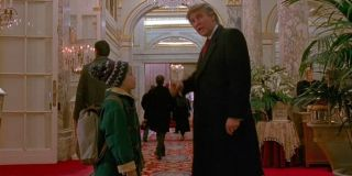 Home Alone 2: Lost In New York Donald Trump directs Macaulay Culkin to the lobby
