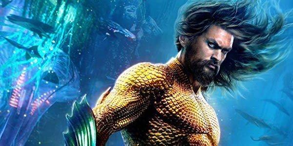 Aquaman's underwater poster