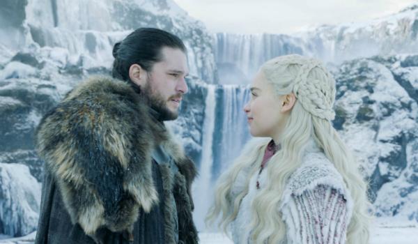 Game of Thrones Jon Snow Kit Harington Emilia Clarke Daenerys Targaryen HBO