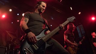"Brian Marshall: ""As a bass player I tend to play off of what a vocalist would do"""