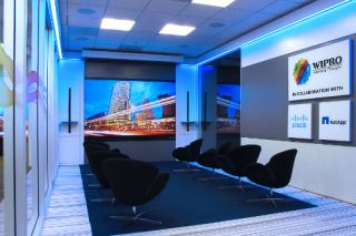 Prysm Video Wall at Wipro Center