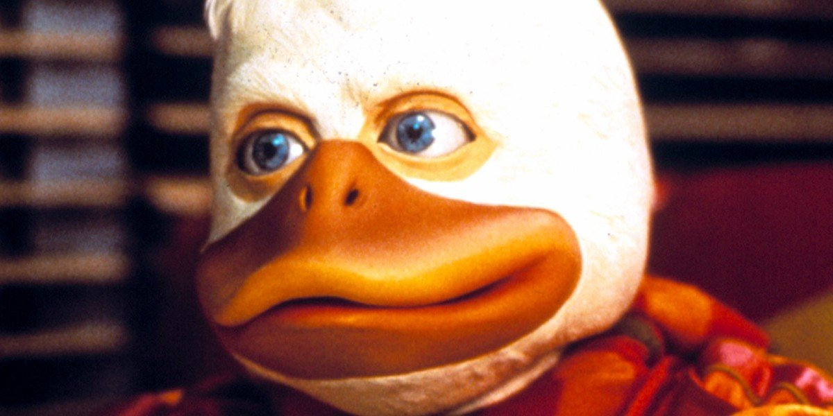 Howard the Duck in the movie