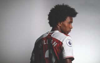 Willian, Arsenal, FourFourTwo interview