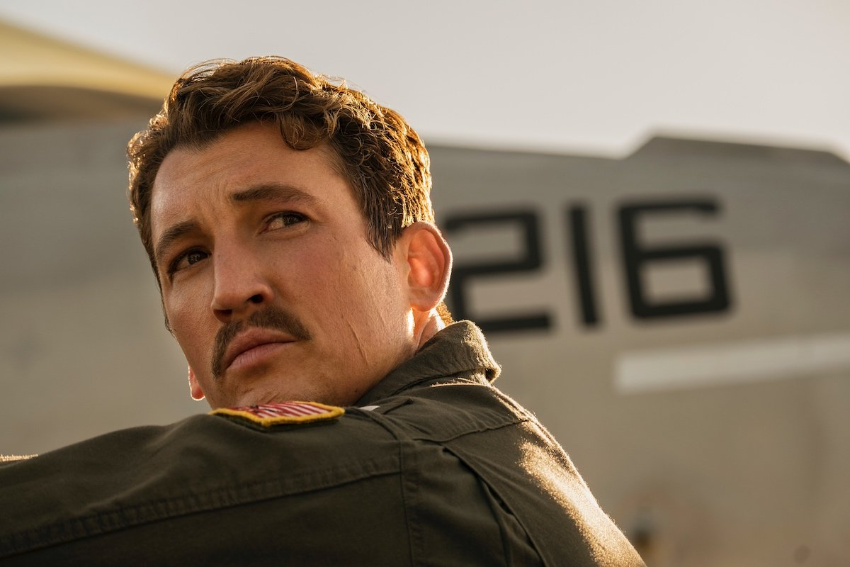 Miles Teller in Top Gun: Maverick