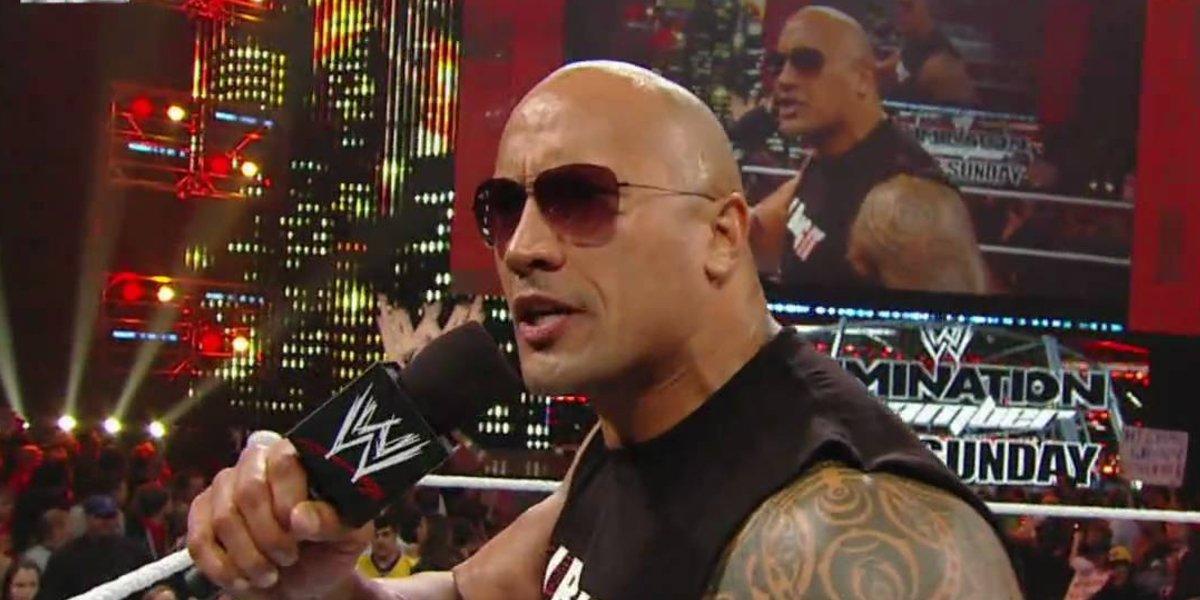 The Rock on Monday Night Raw