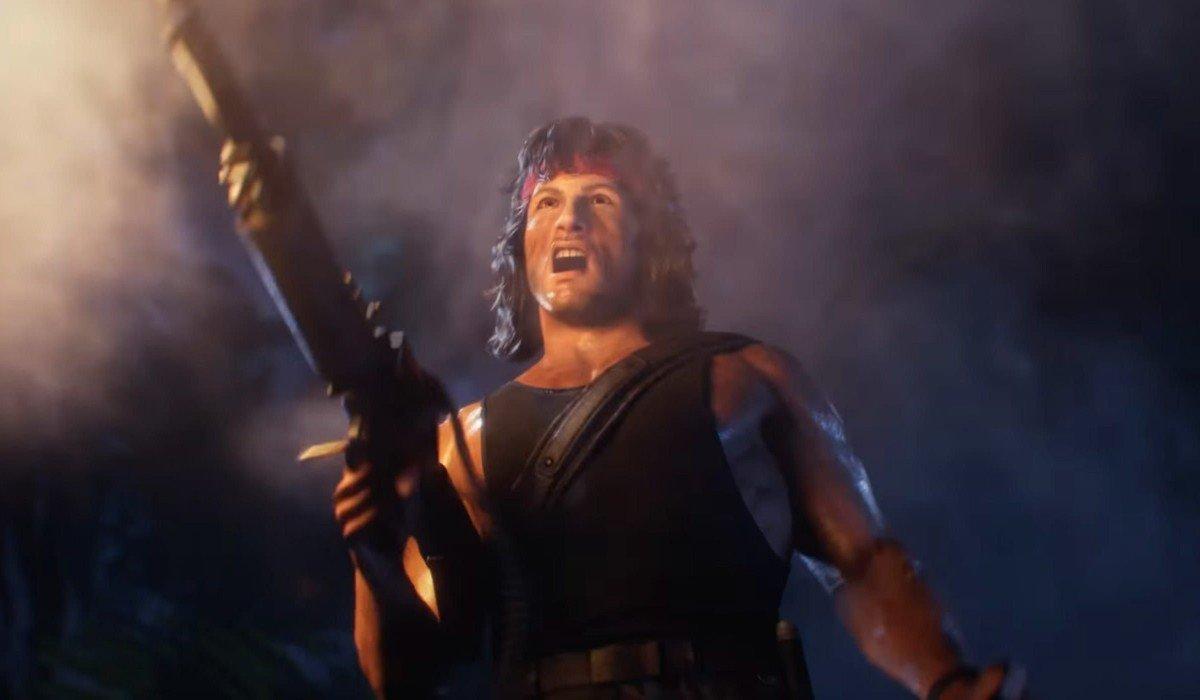 John Rambo Mortal Kombat 11