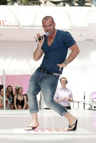 Louis Spence joins Dancing on Ice judges' panel