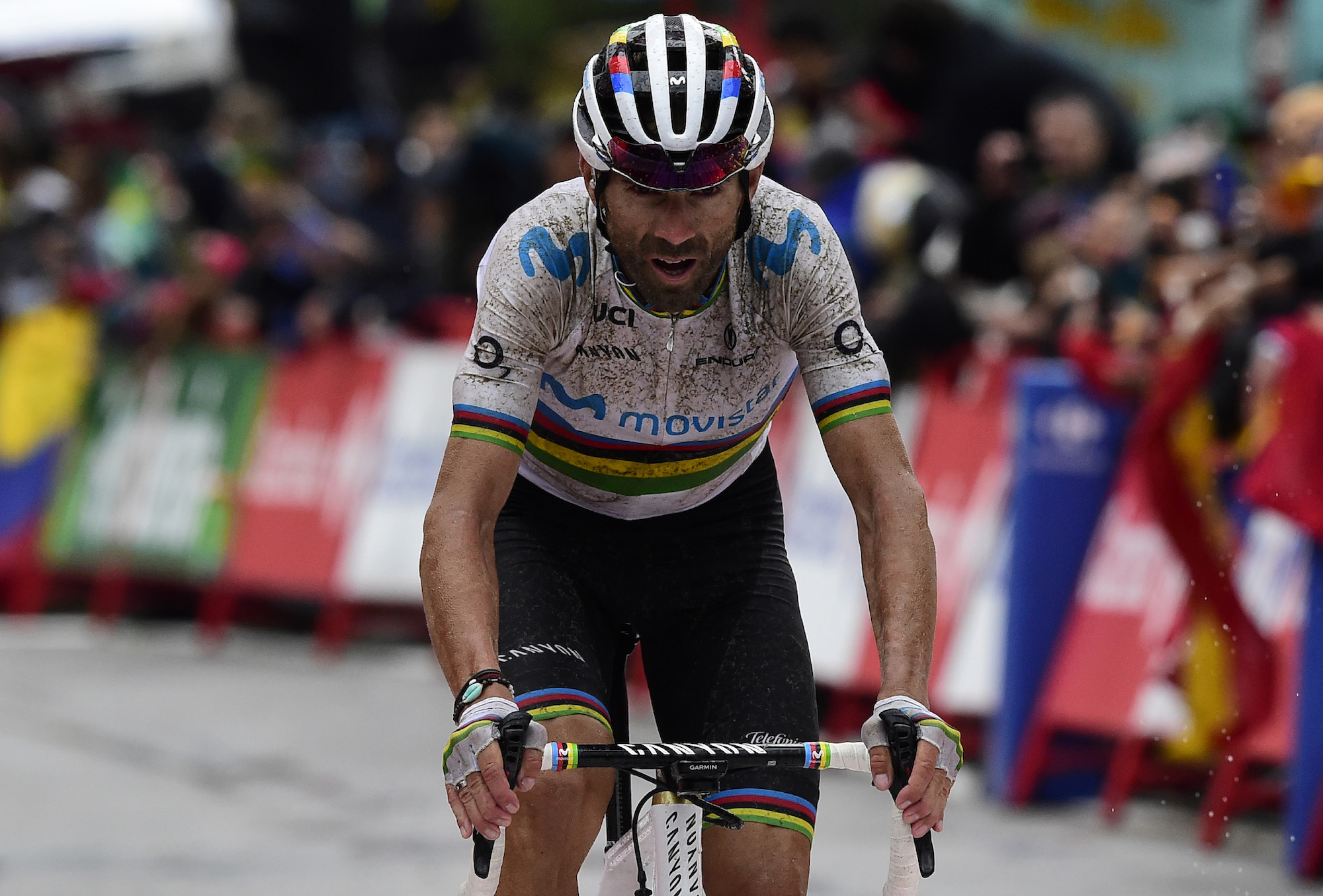 Alejandro Valverde: 'Grandad hasn't had his last word'