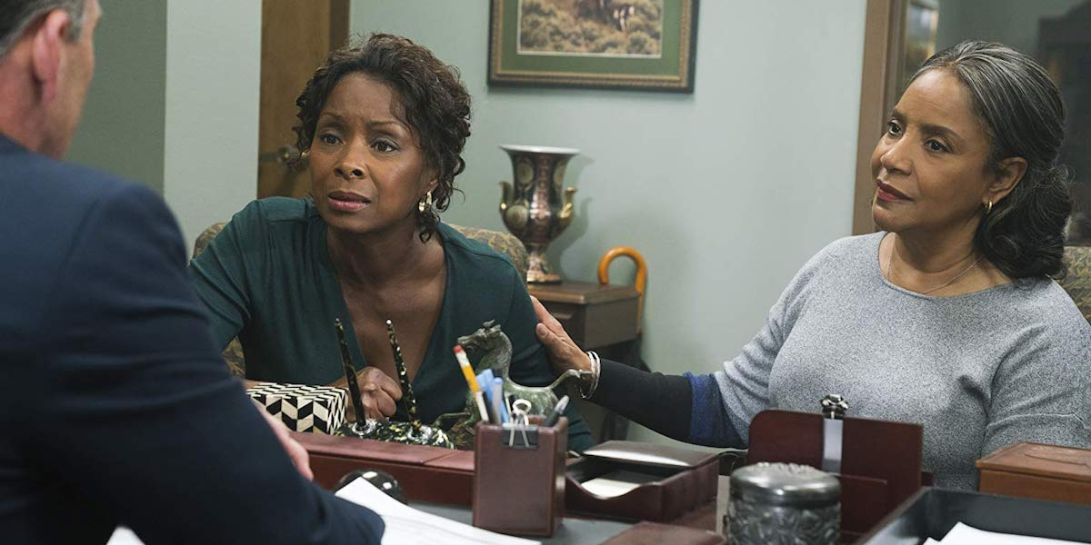 Crystal Fox and Phylicia Rashad in A Fall From Grace
