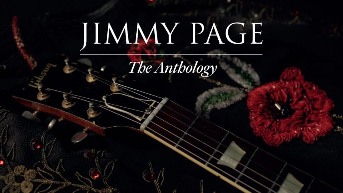Jimmy Page's new book, The Anthology, is a must for hardcore fans
