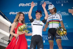 Mark Cavendish wins stage eight of the 2016 Tour of California