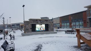 Advanced Designs Park Place Mall Outdoor Videowall