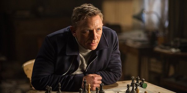 Daniel Craig as James Bond in Spectre