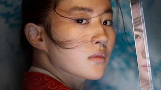 Yifei Liu as Mulan in the live-action version of the movie.