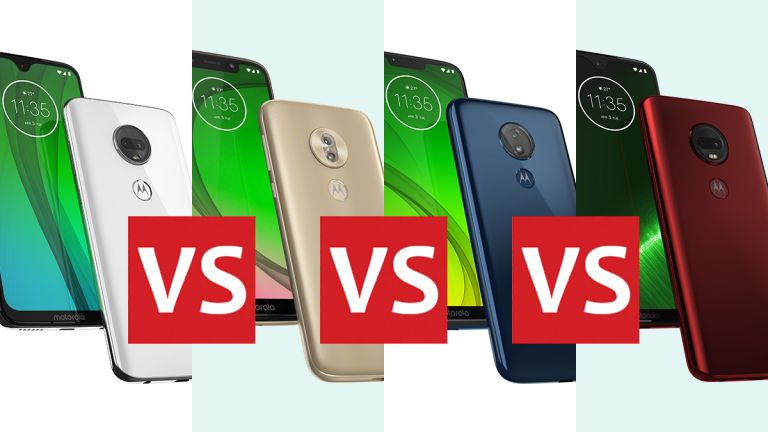 Moto G7 vs Moto G7 Play vs Moto G7 Power vs Moto G7 Plus