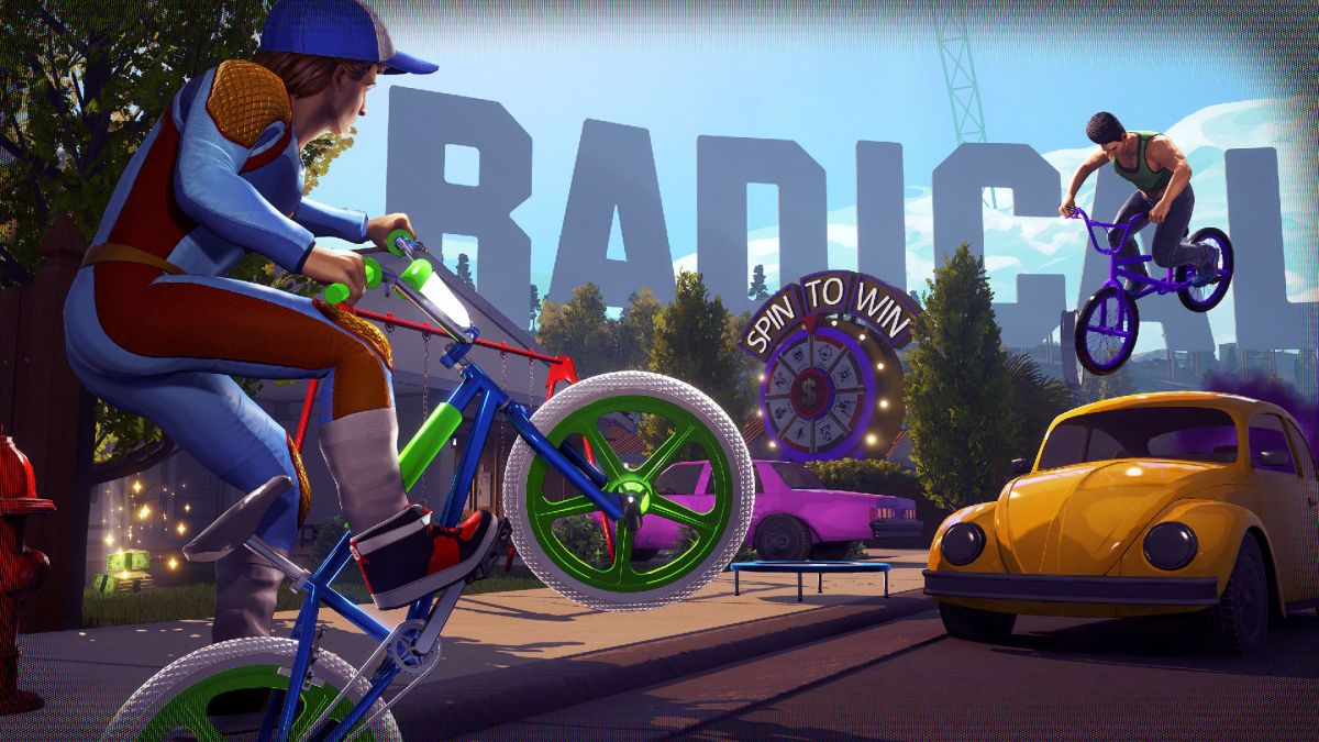Radical Heights' first patch adds bike tricks and a much needed quick melee option