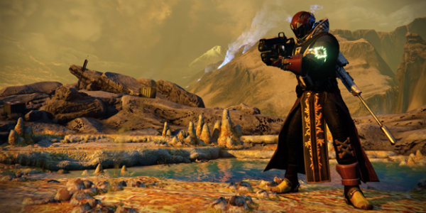 High-level warlock in Destiny