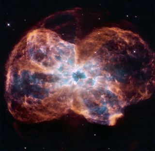 NGC 2440 dying star