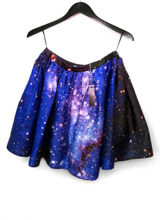 Skirt with Hubble Space Telescope Image