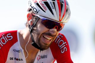 GARD FRANCE SEPTEMBER 03 Arrival Jesus Herrada Lopez of Spain and Team Cofidis Solutions Credits Disappointment during the 107th Tour de France 2020 Stage 6 a 191km stage from Le Teil to Mont AigoualGard 1560m TDF2020 LeTour on September 03 2020 in Gard France Photo by Christophe Ena PoolGetty Images