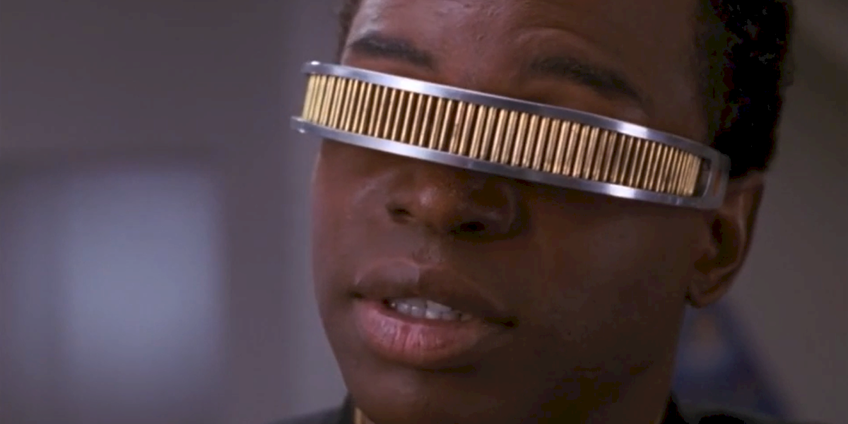 Star Trek: The Next Generation LeVar Burton Geordi La Forge
